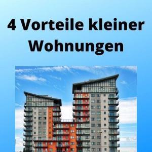 4 Vorteile kleiner Wohnungen